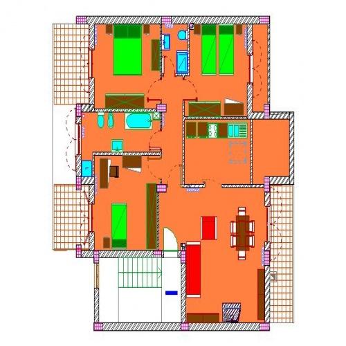 Via Piano Parco Russo, 4 Stanze da Letto Stanze da Letto, ,2 BathroomsBathrooms,Appartamento,In vendita,Via Piano Parco Russo,2,1015